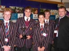 Winners: Kings College